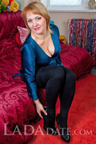 Russian bride tours with marina from nikolaev with Blonde hair age 39
