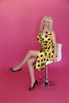 Order russian wife tatyana from kharkov with Blonde hair age 43