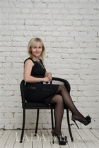 Ukraine beautiful women elena from kharkov with Blonde hair age 32