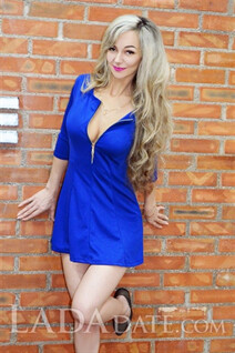 Ukraine woman marriage natalia from nikolaev with Blonde hair age 42