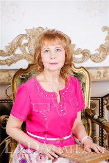 Global lady irina from saint-petersburg with Blonde hair age 56
