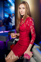 Pretty ukrainian lady alla from saint-petersburg with Dark Brown hair age 33