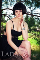 Ukrainian women ekaterina from zaporozhye with Black hair age 20