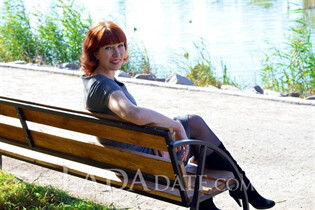 Slavic women lia from zaporozhye with Red hair age 49