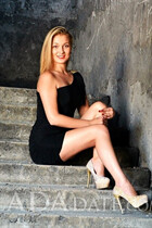 Beautiful single Ukraine woman yana from odessa with Light Brown hair age 29