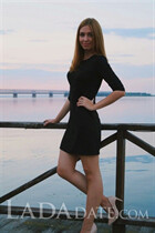 Single Ukrainian bride alina from cherkassy with Dark Brown hair age 21
