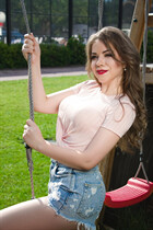 Ukraine girl hot anastasia from kiev with Light Brown hair age 24