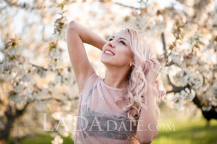 Ukrianian women victoria from nikolaev with Blonde hair age 26
