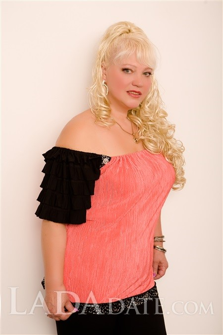 Order a woman online irina from nikolaev with Blonde hair age 57