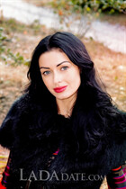 Ukraine beauty girl viktoria from kharkov with Black hair age 35