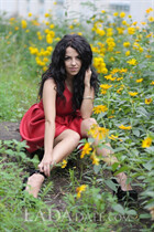 International beautiful girl liliya from konstantinovka with Black hair age 27